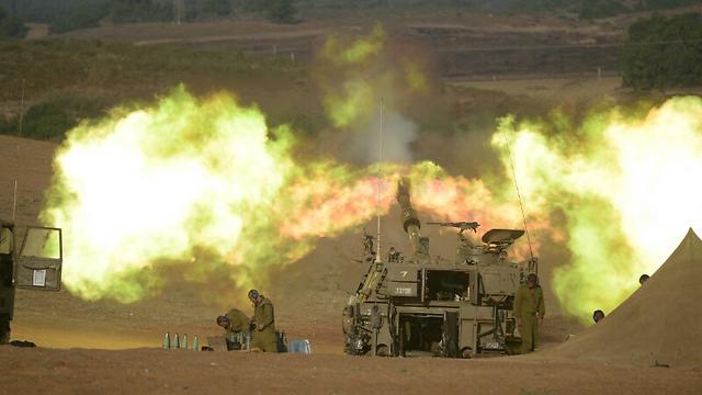 גם הירי הארטילרי יתחדש מחר? (צילום: אבי רוקח)