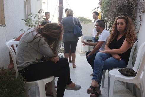 היום בבית משפחת יאורי בירושלים (צילום: גיל יוחנן) (צילום: גיל יוחנן)