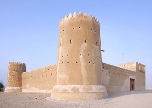 מבצר באתר הארכיאולוגי א-זובארה בקטאר (צילום: shutterstock) (צילום: shutterstock)
