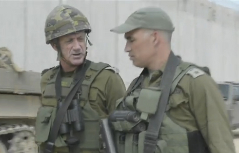 Former IDF Chief of Staff Benny Gantz (L). Misjudged the severity of the tunnel threat (Photo: IDF Spokesperson's Unit)