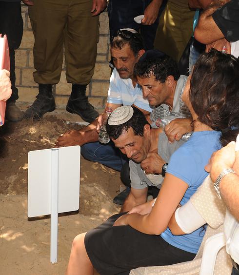 """,הלב שלנו נשבר, אבל אנחנו לא נשברים"""", אמר אחיו של אליאב (צילום: אביהו שפירא) (צילום: אביהו שפירא)"""