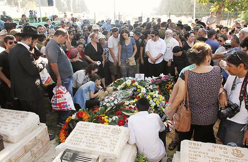 הלווייתו של עדי בריגה באשקלון (צילום: עידו ארז) (צילום: עידו ארז)