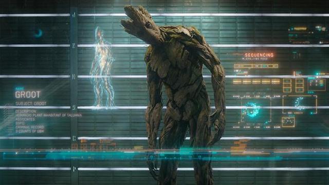 """דמותו של גרוט ב""""שומרי הגלקסיה"""". תמים ()"""