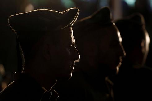 הלוייתו של סמל ברקאי ישי שור בירושלים (צילום: AFP) (צילום: AFP)