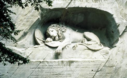 האריה של לוצרן (צילום: swiss1)