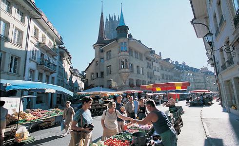 בשוק של לוצרן (צילום: swiss1)