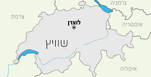 מפת האזור (מפה: Shutterstock)