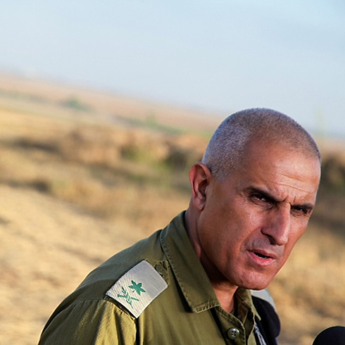 GOC Southern Command Maj. Gen. Sami Turgeman (Photo: AFP)
