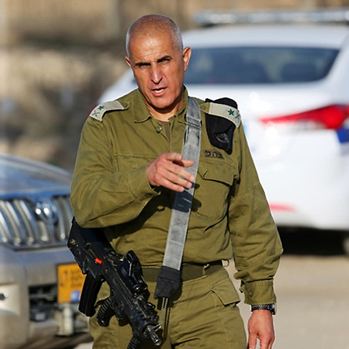 IDF General Sami Turgeman during Operation Protective Edge last year. (Photo: Motti Kimchi) (Photo: Motti Kimchi)
