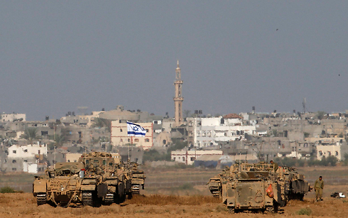 Gaza-Israel border (Photo: Reuters) (Photo: Reuters)