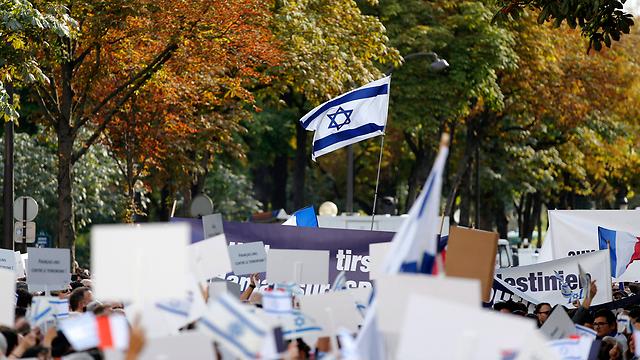 """רבים מהיהודים מרחיקים עצמם מ""""הליגה להגנה יהודית"""" (צילום: EPA) (צילום: EPA)"""