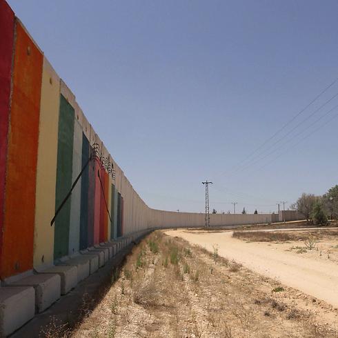Fence protecting Kerem Shalom (Photo: Ido Erez