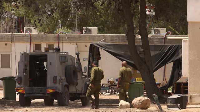 Routine life in Kerem Shalom (Photo: Ido Erez)