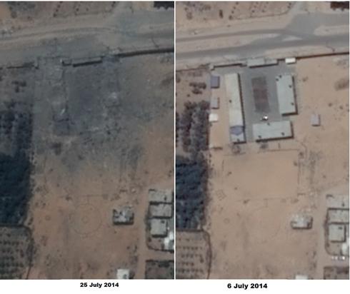 התמונות מג'בליה (צילום לווין: פליאדס, רונן סלומון) (צילום לווין: פליאדס, רונן סלומון)
