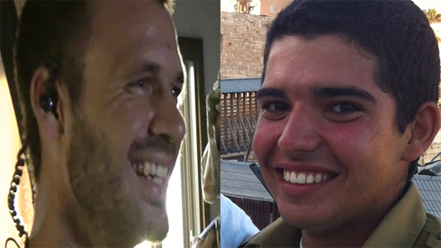 Major Benayah Sarel and Staff Sergeant Liel Gidoni (Yoav Zitun)