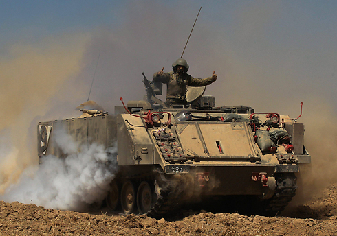 An APC used in Operation Protective Edge (Photo: EPA)