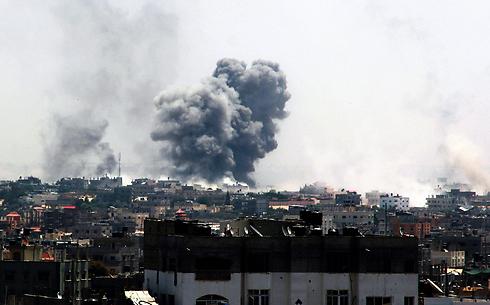 IAF attacks on Rafah (Photo: EPA) (Photo: EPA)