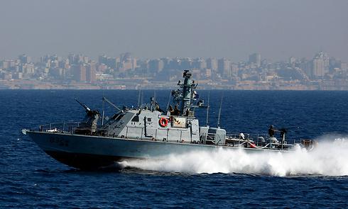 ספינת חיל הים מול חופי הרצועה (ארכיון) (צילום: רויטרס) (צילום: רויטרס)