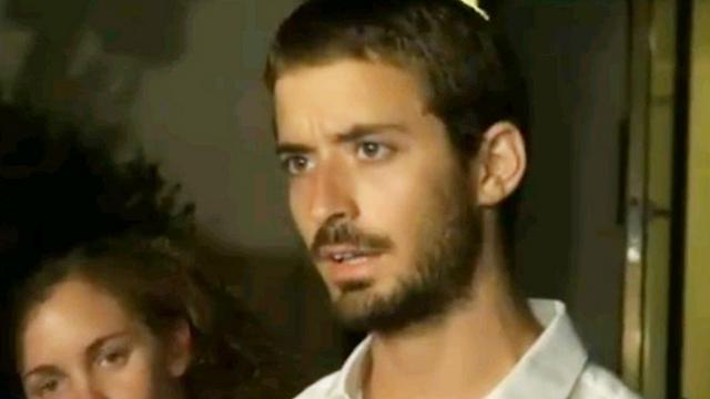 Hadar Goldin's twin brother, Tzur (Photo: George Ginsburg)