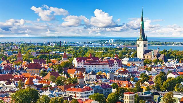 טאלין, בירת אסטוניה. בכל שנה עיר אחרת מארחת את התחרות (צילום: shutterstock) (צילום: shutterstock)