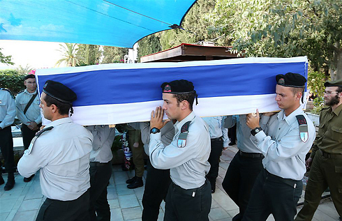 Captain Omri Tal's funeral (Photo: Ofer Amram)