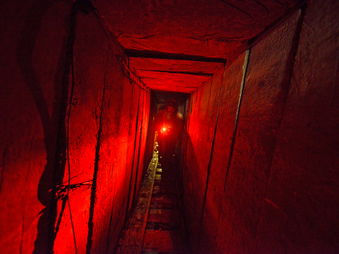 Gaza tunnels (Archive photo: IDF)