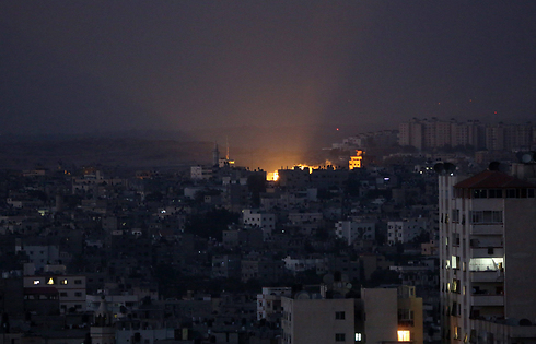 IDF attacks in Gaza (Photo: EPA)