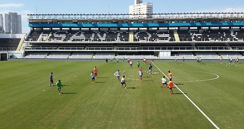 אקדמיית כדורגל בברזיל. בקרוב גם בישראל? (צילום: אורי קופר) (צילום: אורי קופר)
