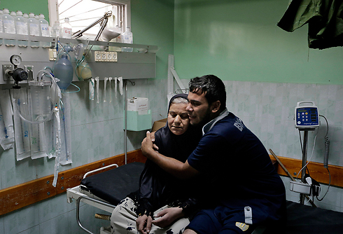 Hospital in Beit Lahia in Gaza (Photo: AP)