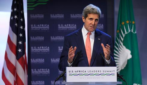 """הואשם בקידום המו""""מ עם הפלסטינים בשביל לקבל פרס נובל לשלום. קרי (צילום: AP)"""