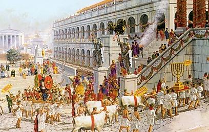 """""""רומא זה כמו כלב ציד ששם ביס, ולא עוזב - לא משנה מה"""" (צילום: פיטר קונולי) (צילום: פיטר קונולי)"""