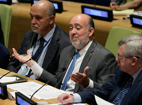 UN Ron Prosor: 'Stand with Israel and against terror before it's too late' (Photo: AP)