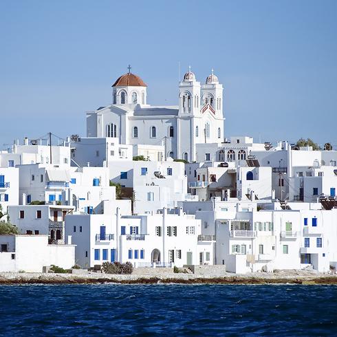 פארוס: חופים מדהימים, בתים לבנים (צילום: shutterstock) (צילום: shutterstock)