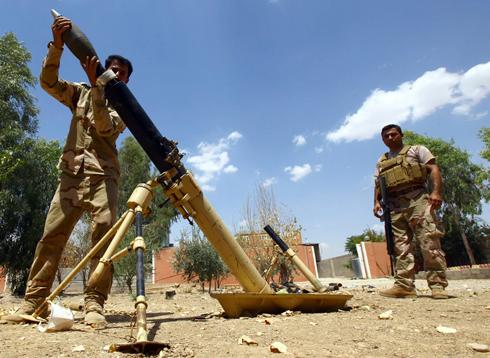כוחות הביטחון הכורדיים בפעולה נגד דאעש (צילום: רויטרס) (צילום: רויטרס)