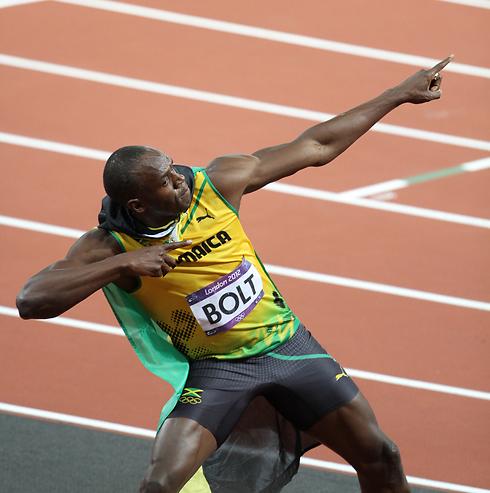 אוסיין בולט. האדם הכי מהיר, פחות מהיר מזירמת הזרע (צילום: אורן אהרוני) (צילום: אורן אהרוני)