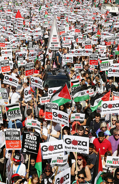 Pro-Palestinian rally in London (Phoro: Getty Images)  (Photo: Getty Images)