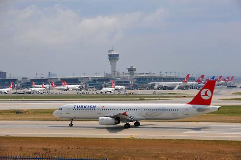 מטוס טורקיש איירליינס (צילום: AFP)