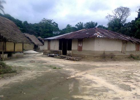הכפר הנטוש בליבריה (צילום: AFP) (צילום: AFP)