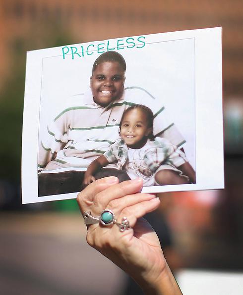 תמונה של בראון בילדותו (צילום: AFP) (צילום: AFP)
