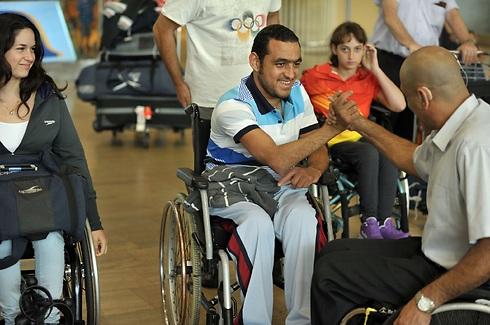 שלבי חוזר לישראל אחרי ההישג באליפות אירופה (צילום: נח רם) (צילום: נח רם)