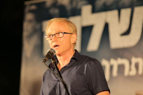 הסופר דויד גרוסמן מזהיר מאובדן הבית  (צילום: מוטי קמחי) (צילום: מוטי קמחי)