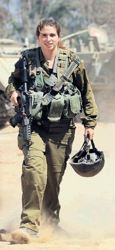 Staff Sgt. Yonat Daskal (Photo: Gadi Kablo, Yedioth Aharonoth) (Photo: Gadi Kablo, Yedioth Aharnoth)