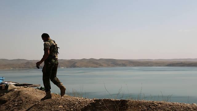 סכר מוסול בעיראק (צילום: AP) (צילום: AP)