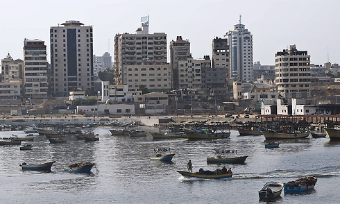 Gaza should get a new seaport, in return for its disarmament. (Photo: AFP)