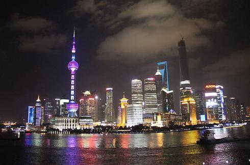 מבט אל שנחאי, המרכז הכלכלי של סין (צילום: בילי פרנקל) (צילום: בילי פרנקל)