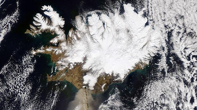 ענן אפר באיסלנד. ב-536 התוצאה הייתה צניחה של הטמפרטורות בעולם (צילום: AFP) (צילום: AFP)
