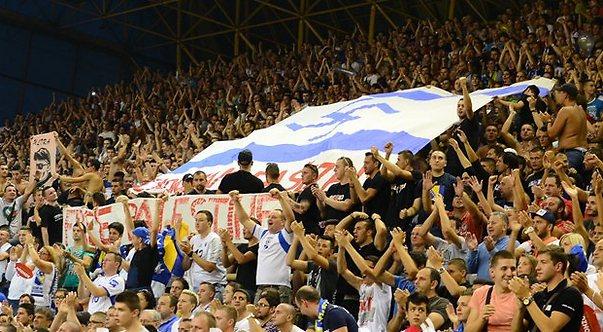 דגל ישראל עם צלב קרס בבוסניה (צילום מסך)