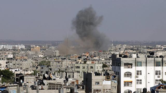 IAF strike on Gaza during military operation (Photo: AFP) (Photo: AFP)