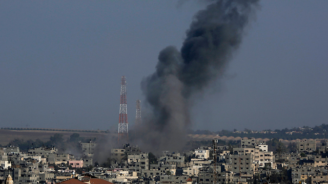 IAF strikes targets in the northern Gaza Strip (Photo: AP)