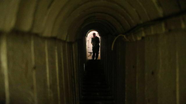 Terror tunnel (Photo: Reuters)